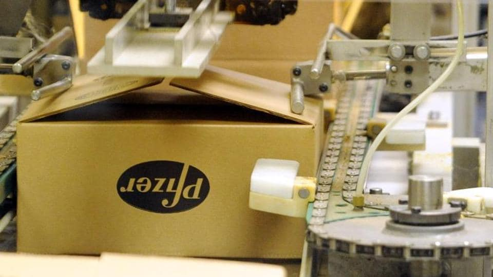 Britain's competition watchdog has fined Pfizer a record 84.2 million pounds.