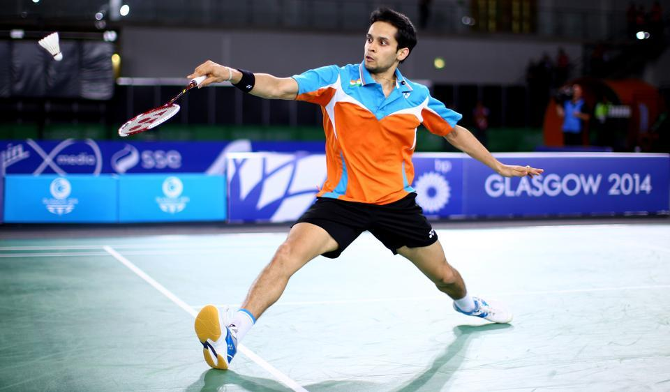 Parupalli Kashyap reached the quarterfinals of the Korea Masters Grand Prix Gold after defeating China's Zhou Zeqi.
