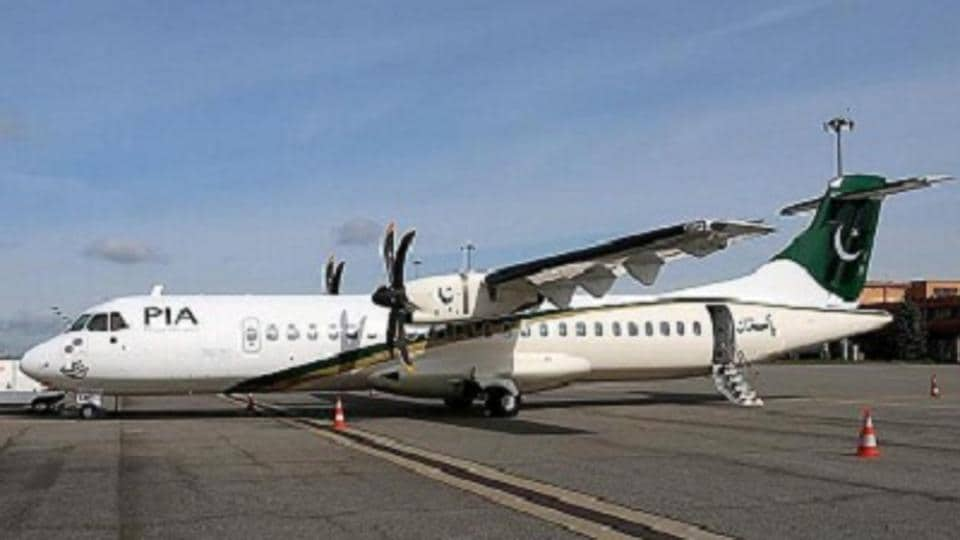 File photo of an ATR aircraft of the Pakistan International Airlines. A similar aircraft, with 48 people on board, crashed on Wednesday while flying from Chitral to Islamabad.