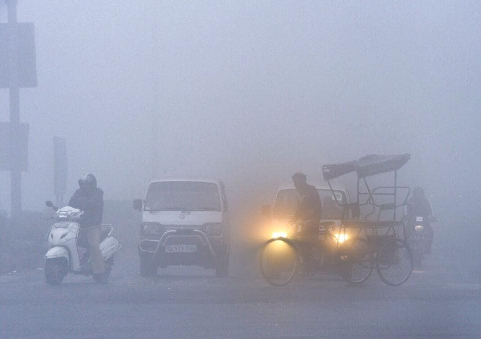 Dense fog blanketed Delhi and other parts of north India on Thursday, severely impacting flights and trains for the second consecutive day amid warnings of a sharp spike in pollution across the national capital.