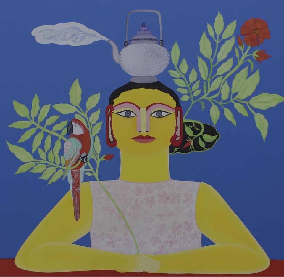 Rekha Rodwittiya,artist,Love Done Right can Change the World