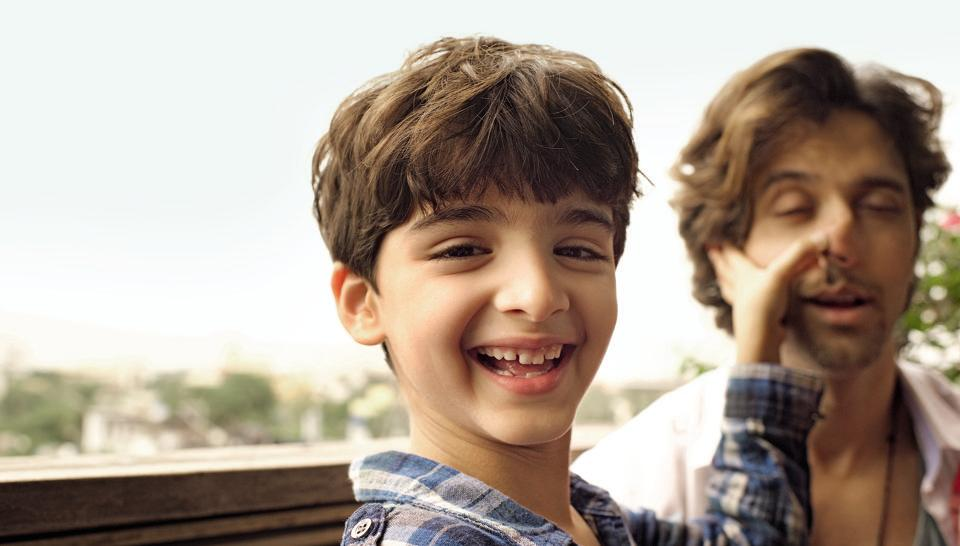 """My lessons in life for Hrehaan and Hridhaan started early. One boy came crying to me because a friend had called him 'stupid'. I asked him, 'What's the truth? Are you stupid?' He said, 'No!' I told him, 'Then there's no need for you to react at all!' He realised I was right in a second."""