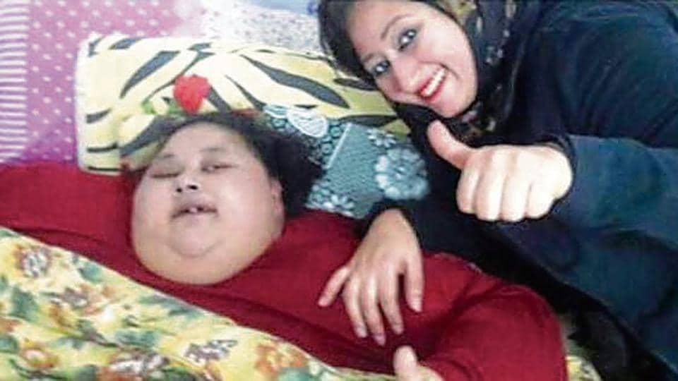 500-kg Egyptian woman,Save Eman,Sushma Swaraj