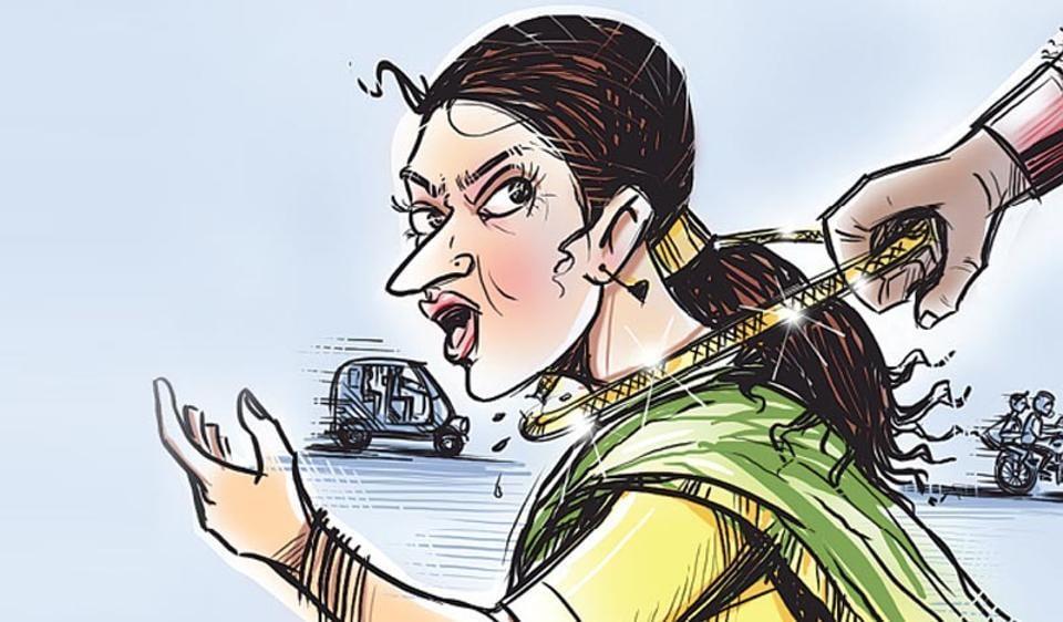 Chain snatcher,Kurla GRP,death on tracks