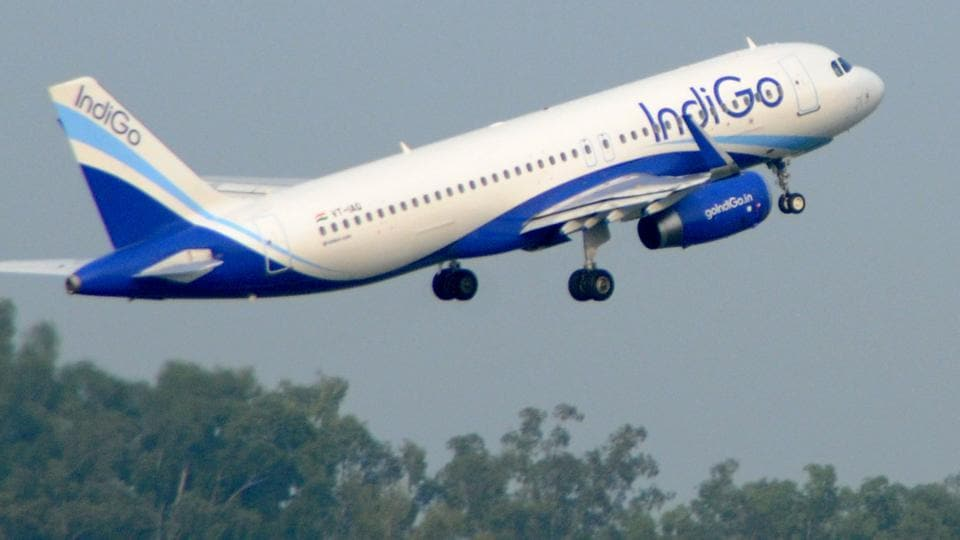 The Dubai flight of IndiGo Airlines was diverted to Delhi as the flight could not land at the airport due to poor visibility.