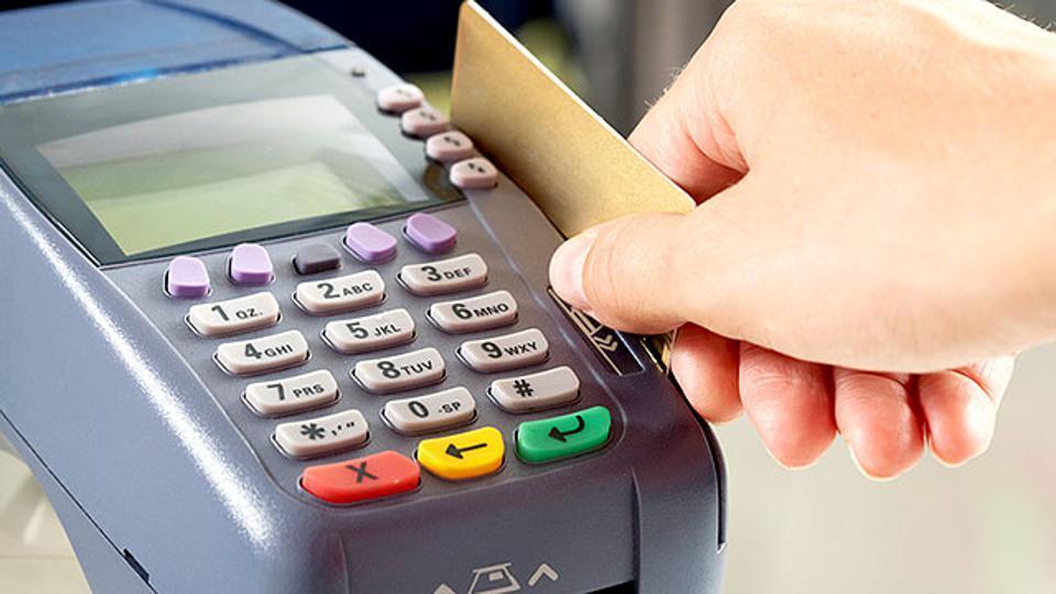 Service tax,Credit card,Cashless transactions