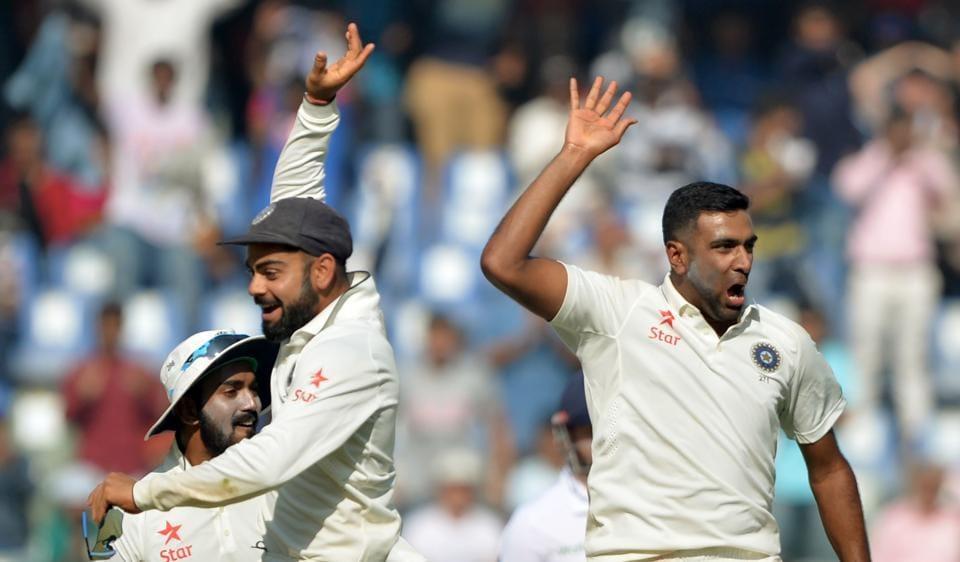 Ravichandran Ashwin,Keaton Jennings,India vs England