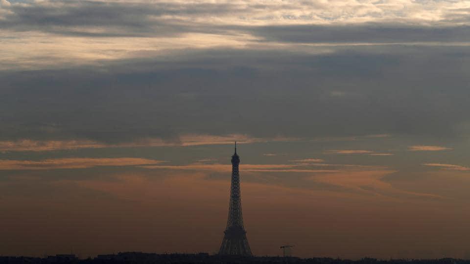 Paris,France,pollution