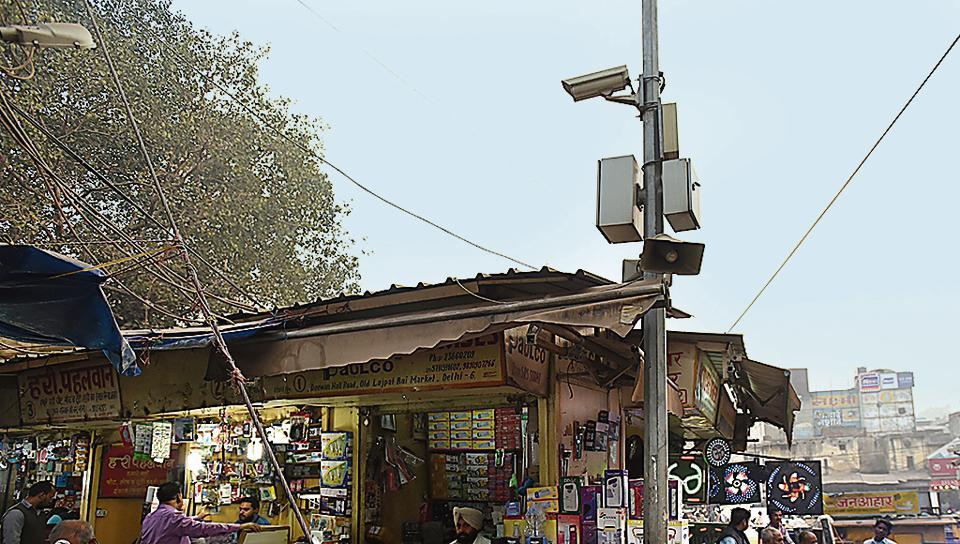 CCTVs,old delhi,Shahjahanabad