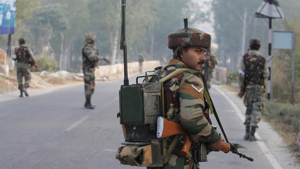 Arwani encounter,Kashmir,Militants