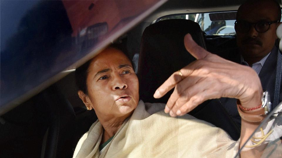 Mamata Banerjee's flight hovered over Kolkata airport for over 30 minutes.