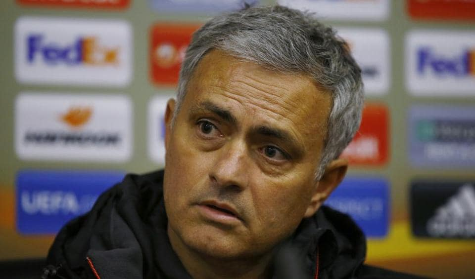 Manchester United manager Jose Mourinho during the press conference ahead of match against Zorya Luhansk.