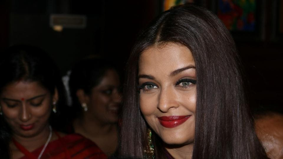 Aishwarya Rai Bachchan at the 49th World Congress on Dance Research in Mumbai on Wednesday.