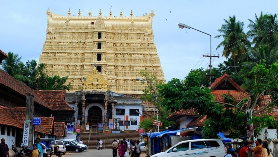 Kerla 05 July 2011:: HT News:: Kerla Temple :::: East Entrance Sree Padmanabhaswamy Temple Thiruvananthapuram of the Sree Padmanabha Swamy Temple on Tuesday 05 July 2011. HT Photo by Vivek Nair