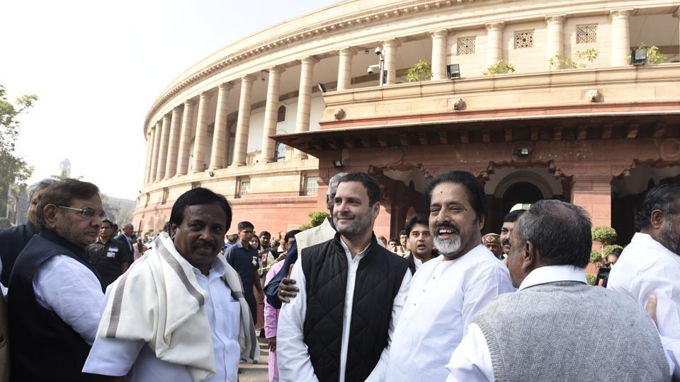 Congress vice president Rahul Gandhi lashed out at Prime Minister Narendra Modi accusing him of 'laughing' at people's suffering.