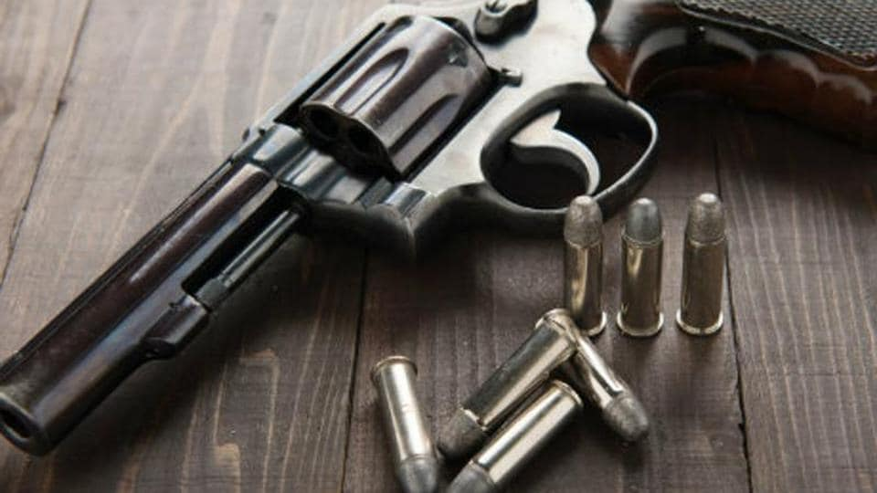 A 20-year-old woman died after being shot during celebratory firing in Gujarat.
