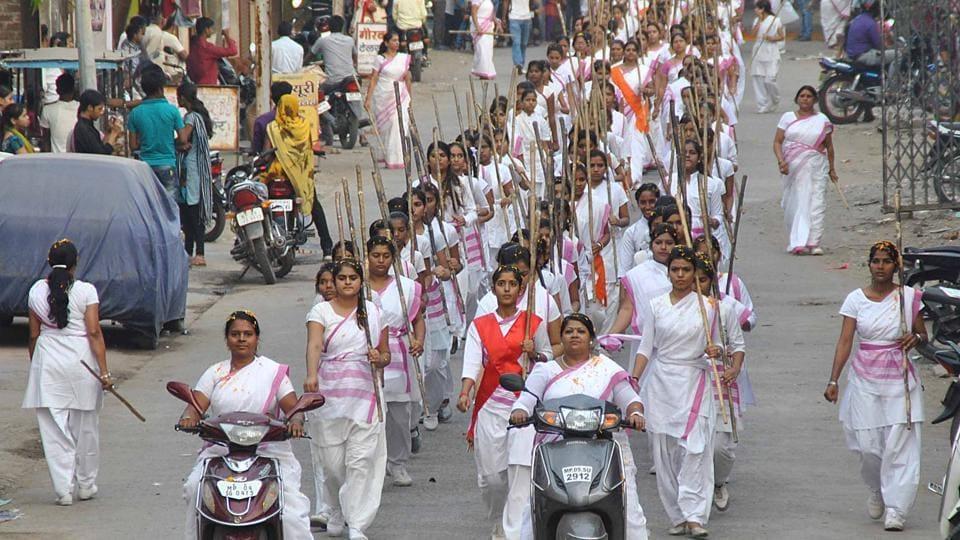 RSS,Rashtra sevika samiti,Feminism