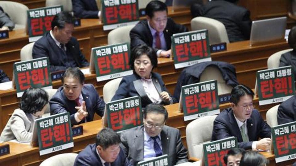 South Korea,Park Geun hye,South Korea impeachment