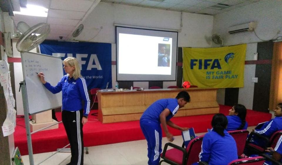 The five-day programme, which ends on December 9, has former Swedish footballer Anna Signeul imparting training to 19 women AIFF D-licence holders in Gwalior.