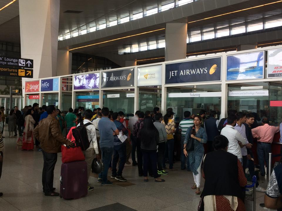 The scanners are currently used at several international airports and Delhi is the first airport India to experiment with the security device.