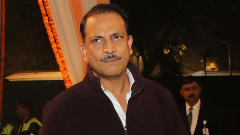 Union minister of state for skill development and entrepreneurship Rajiv Pratap Rudy present at the function (Manoj Verma/HT Photo)