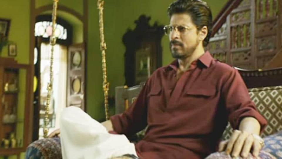 Shah Rukh Khan plays bootlegger turned gangster in Raees.
