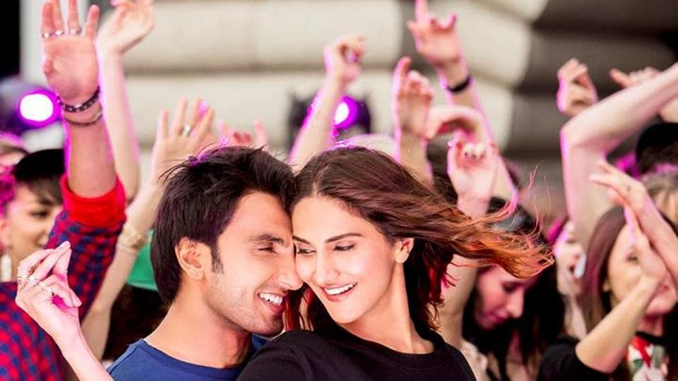 Raveer Singh and Vaani Kapoor in a still from Befikre.