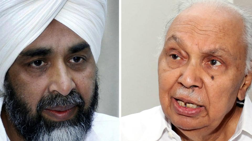 Manpreet Badal and Surinder Singla.