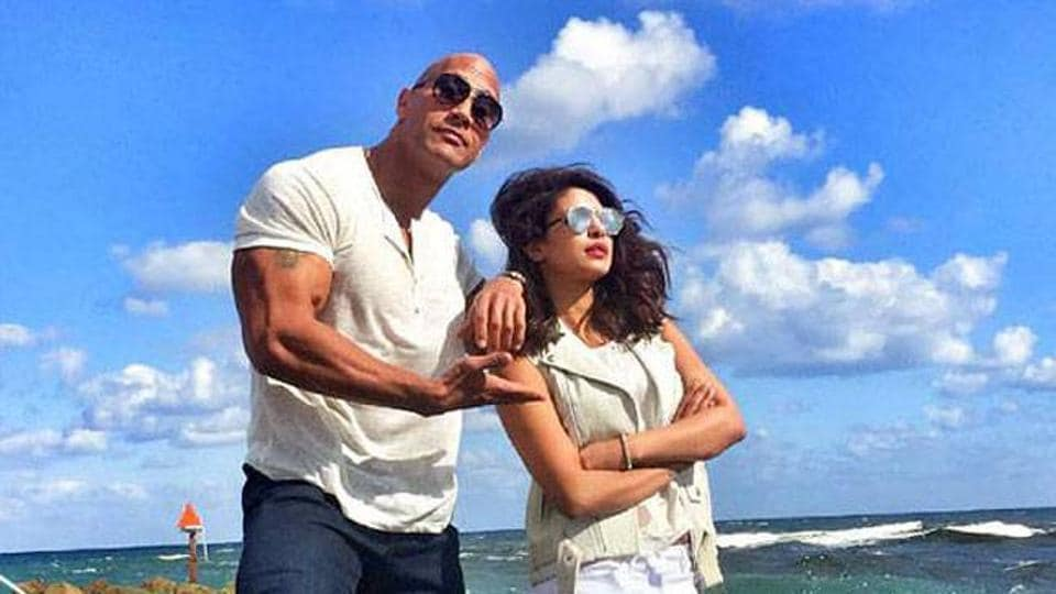 Priyanka Chopra plays the main antagonist in Baywatch that stars Dwayne Johnson and Zac Efron in lead roles.