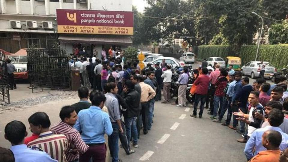 Irked by unavailability of cash, scores of customers had damaged the bank branch on Thursday.