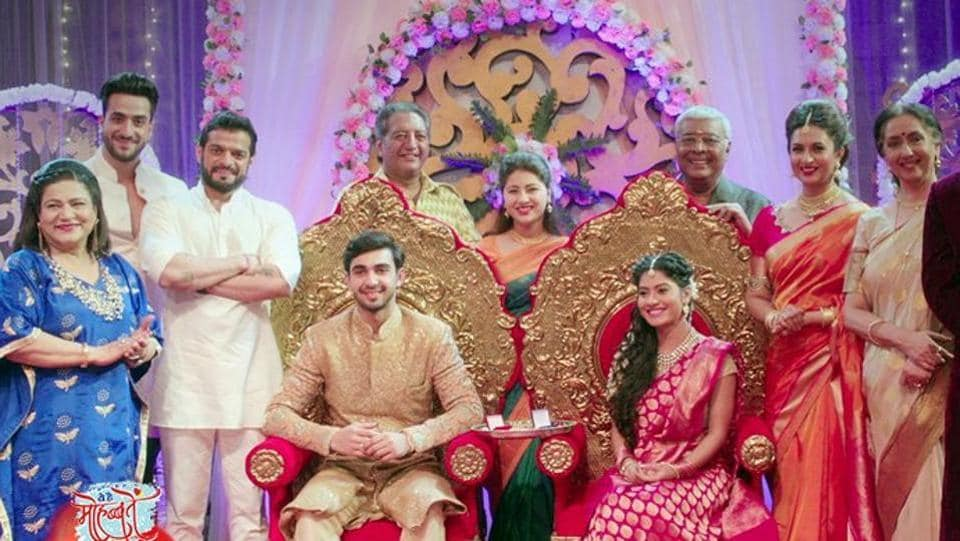The show, which is aired on Star Plus, began in December 2013 with Divyanka, Anita Hassanandani and Karan Patel in lead roles.