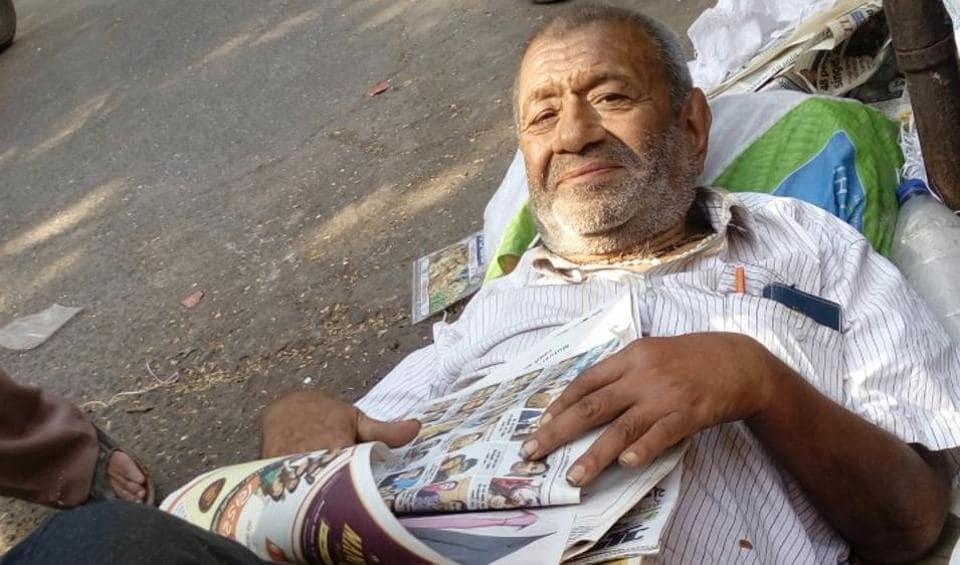 Homeless Man,Borivli,Chemical Engineer