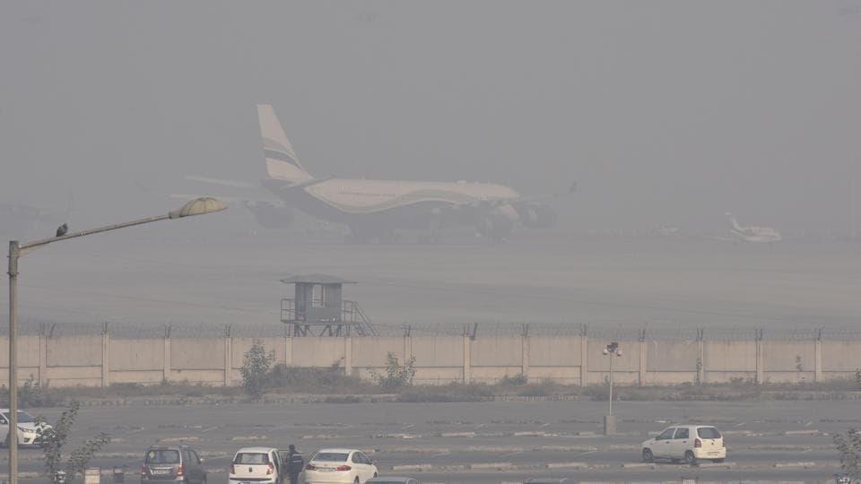 Palam airport,IGI Airport,Fog in Delhi