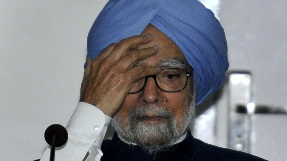 Former PM Manmohan Singh at a conference in Chandigarh on Friday, December 9.