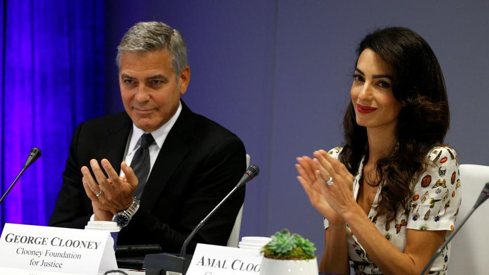 Are George Clooney and wife Amal headed for a Rs 2000 ...