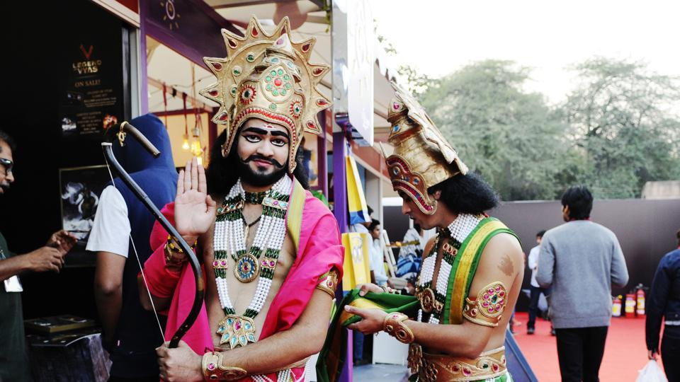 Indian cosplay or costumes such as these are not uncommon at India's comic cons, which have a distinct local flavour.