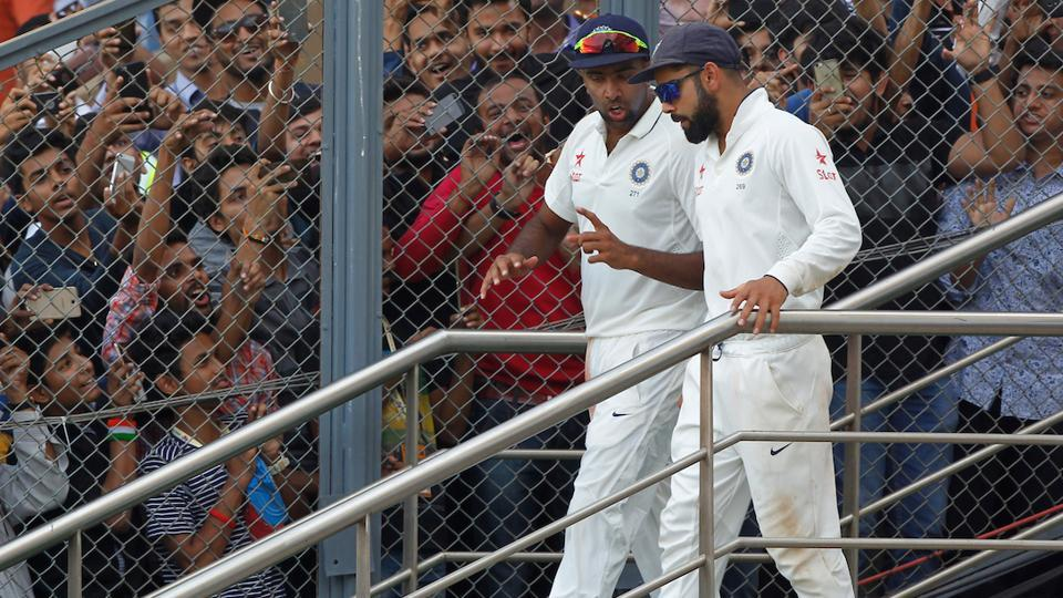 Ravichandran Ashwin once again displayed his class in the Wankhede Test against England.