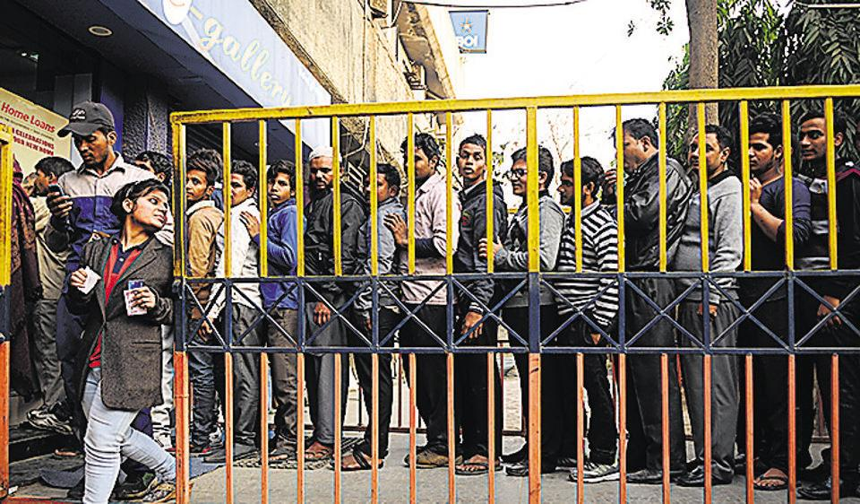 Many ATMs ran dry on Thursday, a month after the demonetisation announcement of November 8.