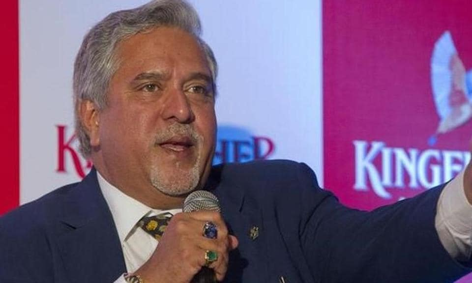 Kingfisher Airlines Chairman Vijay Mallya speaks to the media during a news conference in Mumbai .