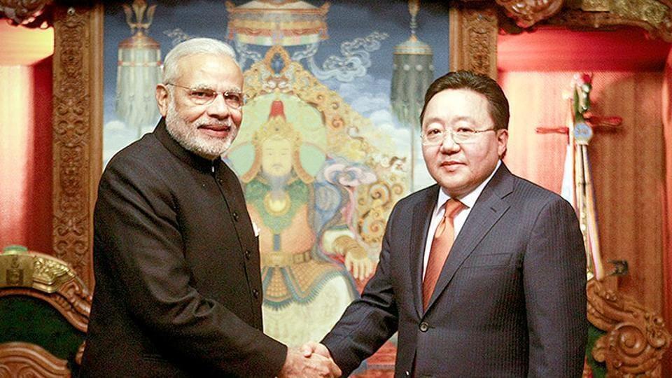 Mongolia-India ties