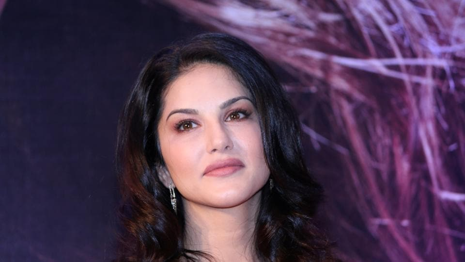 Sunny Leone during the launch of her own app in Mumbai on Nov. 30.
