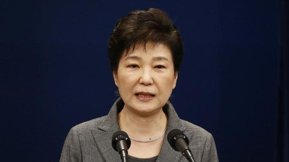 South Korean lawmakers on Friday passed an impeachment motion against President Park Geun-Hye, stripping away her sweeping executive powers over a corruption scandal.