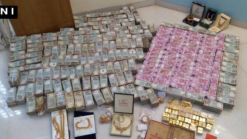 Demonetisation,Gold seized,New Rs 2000 notes seized