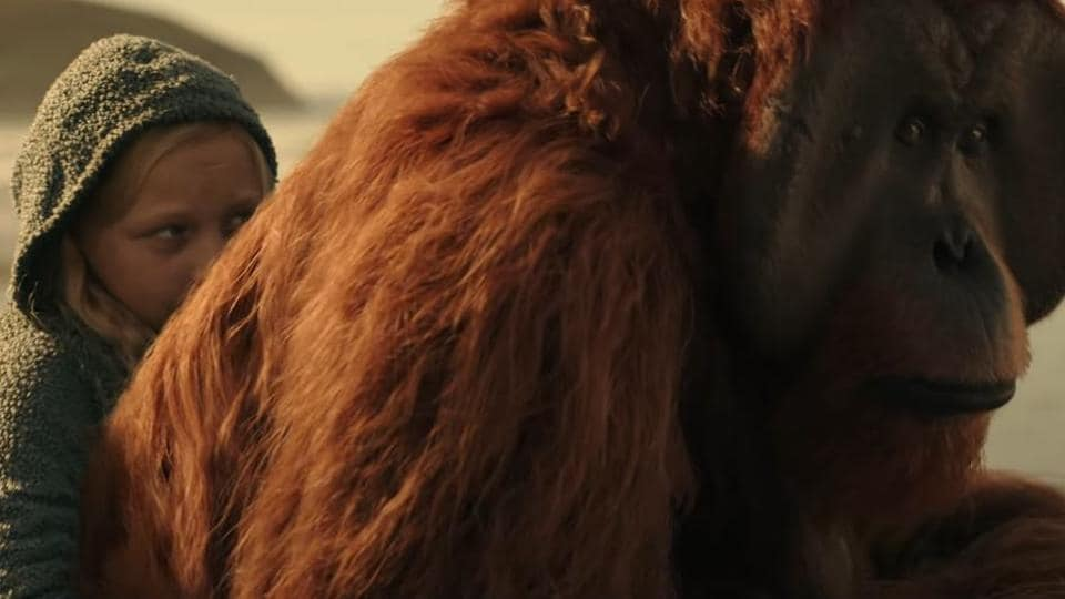 In the two-minute trailer for War for the Planet of the Apes, humans and apes draw their weapons in a battle that will determine the fate of both their species.