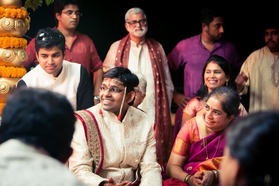 The Mumbai wedding of Suruchi and Sandeep shot by Payal Kumar about three years ago. When the boy's family refused to participate, his in-laws appointed relatives of their own to organise the baraat and stand by his side.