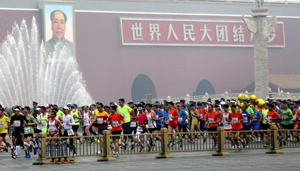 China half marathon,Two runners died,Beijing