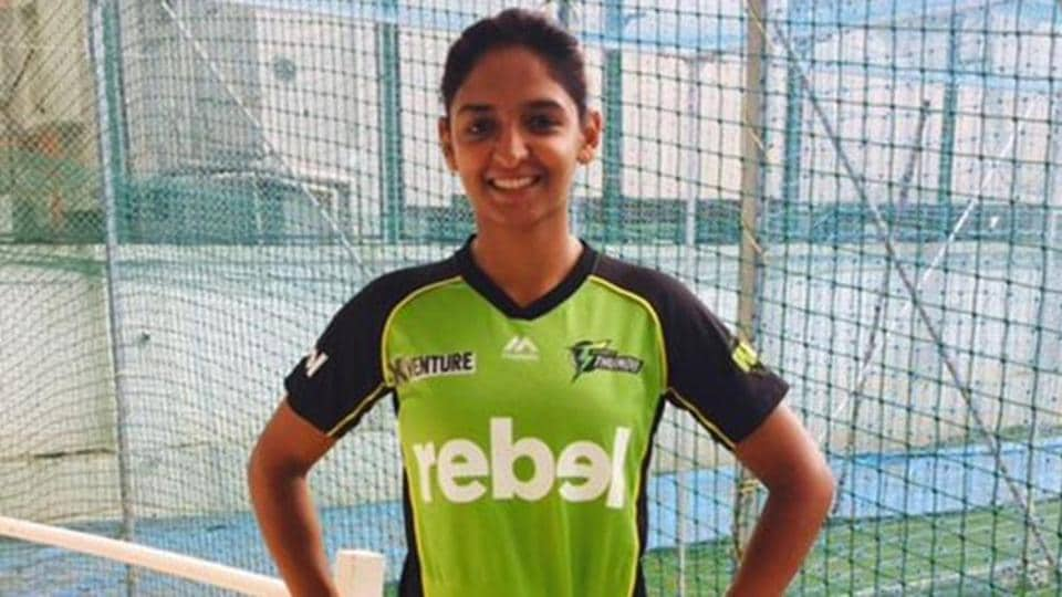 Harmanpreet Kaur, the first Indian to play in the Big Bash League, scored a 28-ball 47 in her debut.