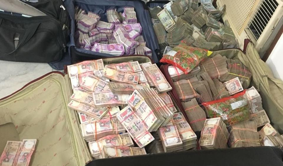 Rs 13.65cr seized, Rs 2.61cr in new Rs 2000 banknotes
