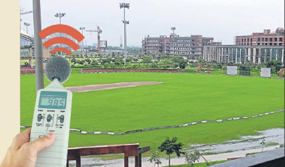 There's a need to install noise meters at stadiums, near highways.