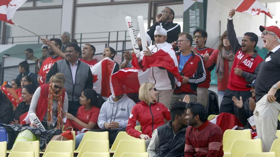 Indian-origin families have travelled to Lucknow to support Team Canada.